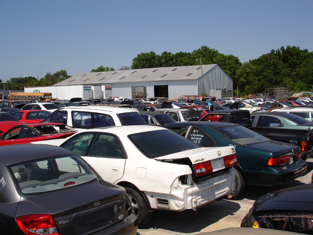 Allen's Used Auto Parts salvage yard and repair facility